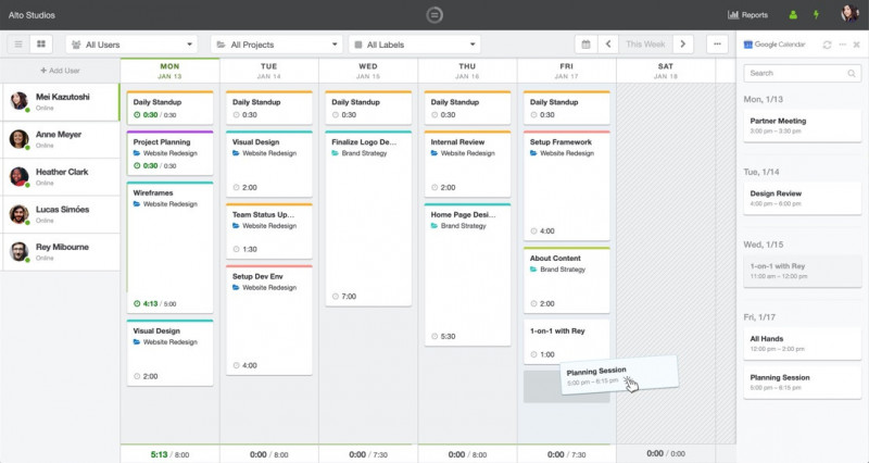 HourStack Outlook Calendar Integration